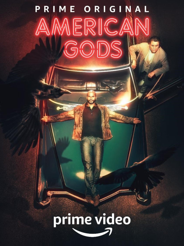 American Gods - locandina Amazon Prime Video