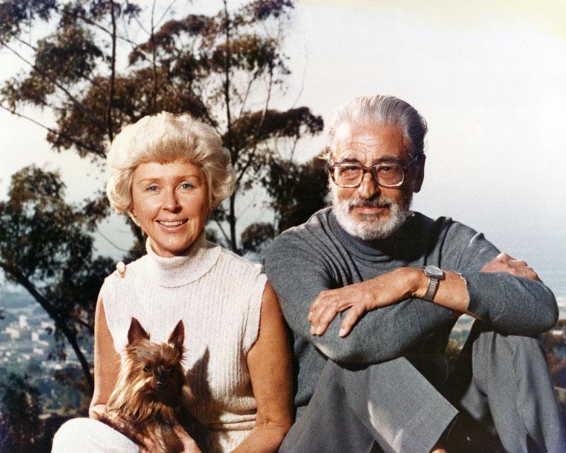 Audrey e Theodor Geisel