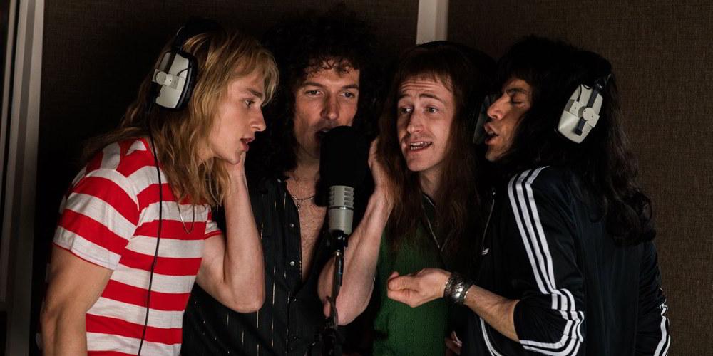 Bohemian Rhapsody - una scena fondamentale in cui i Queen incidono i suggestivi cori del brano che dà il titolo al film