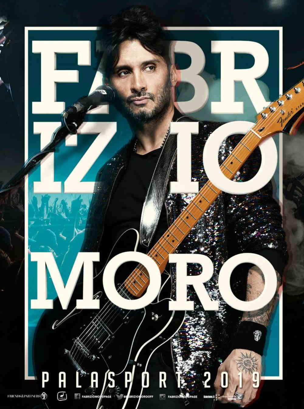 Fabrizio Moro locandina tour palasport
