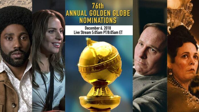 Golden Globe 2019 nomination