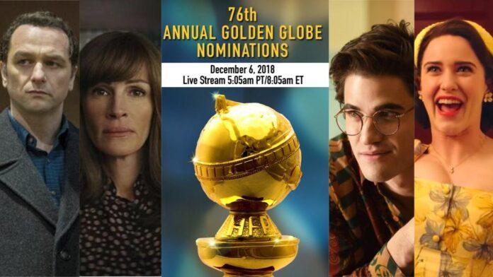 Golden Globe 2019 nomination tv