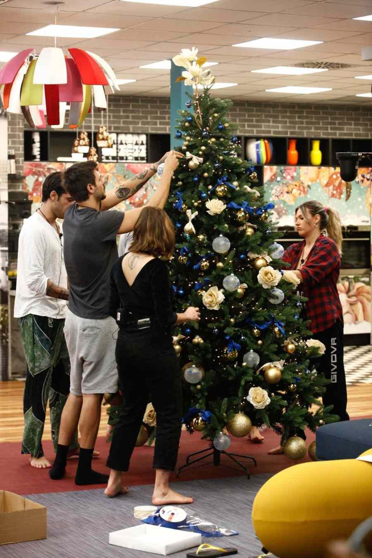L'albero di Natale del Grande Fratello Vip