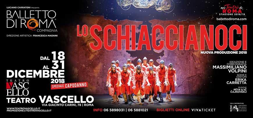 Lo Schiaccianoci - locandina Teatro Vascello