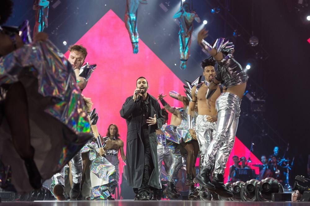 Marco Mengoni, ospite della finale di X Factor