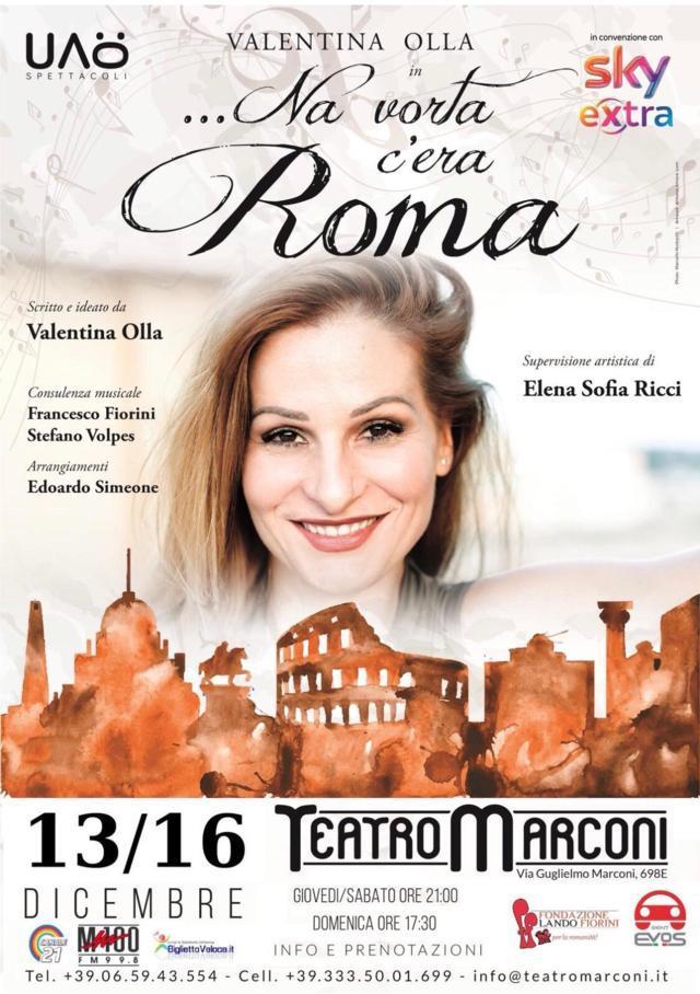 'Na vorta c'era Roma locandina - Valentina Olla