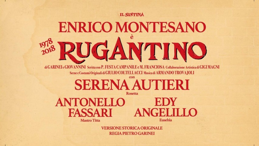 Rugantino - locandina Teatro Sistina