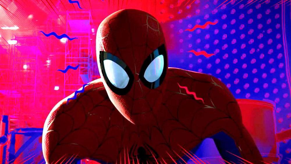 Spider-Man - un nuovo universo - un'immagine dell'uomo ragno di questa nuova versione