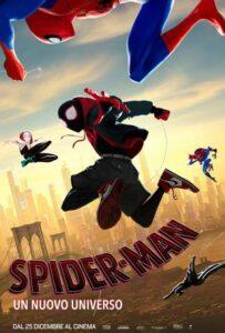Spider-man - Un nuovo universo - locandina