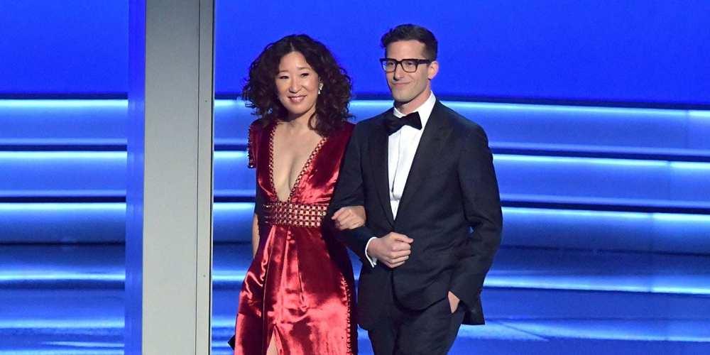 Andy Samberg e Sandra Oh