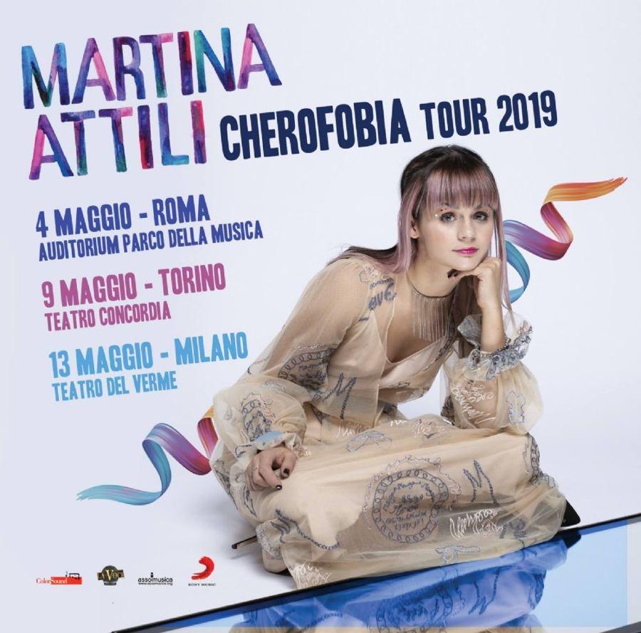 Cherofobia Tour 2019 di Martina Attili