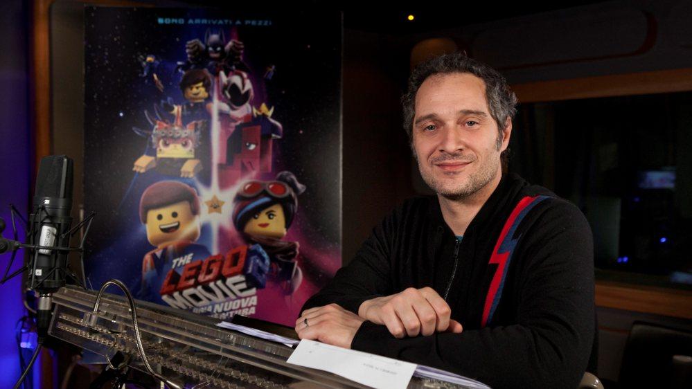 Claudio Santamaria doppiatore di Batman in The Lego Movie 2