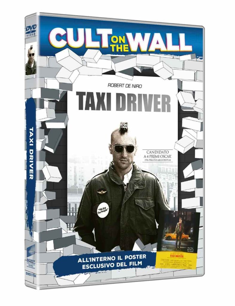 Cult on the wall -Taxi Driver