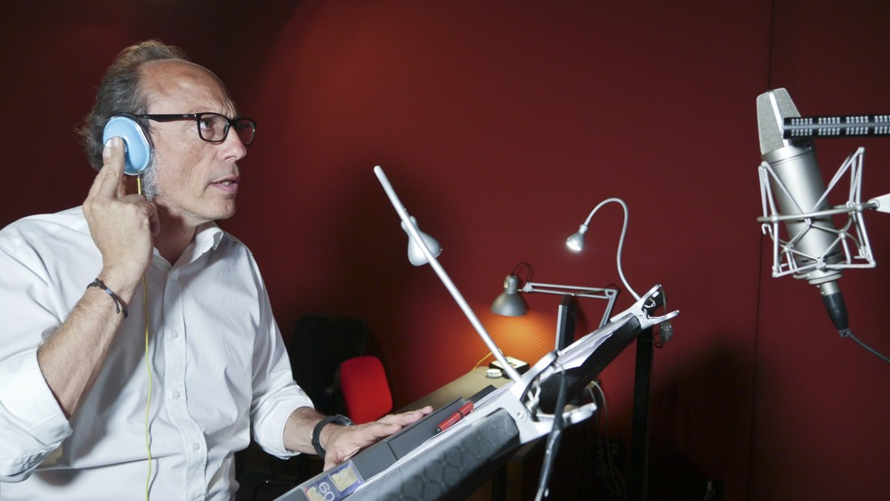 Guido Meda - doppiatore in Alita Angelo della battaglia