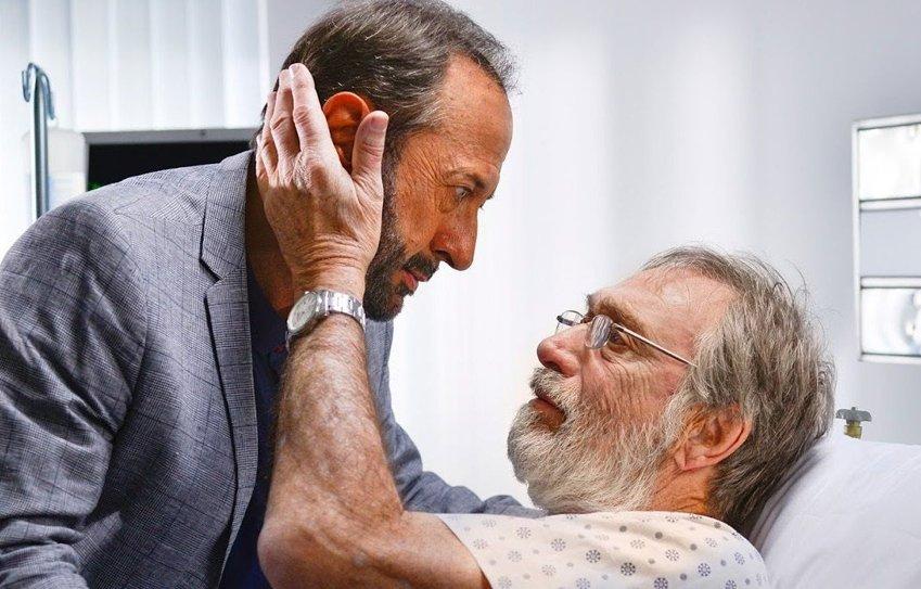 Guillermo Francella e Luis Brandoni in un frame del film Il mio capolavoro