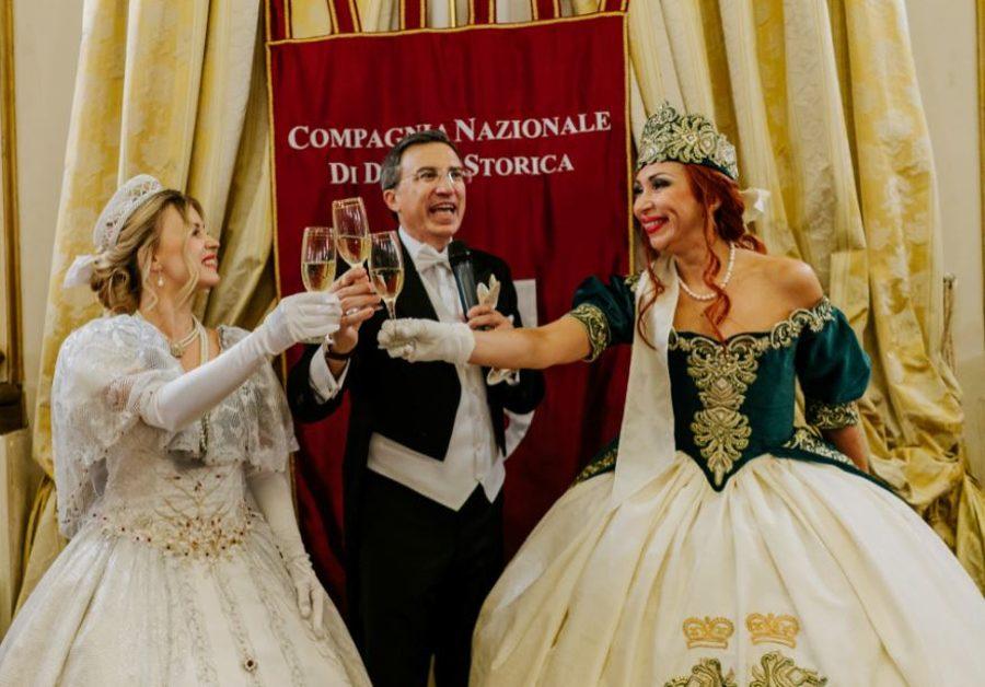 Il Brindisi di Anastasia Kuzmina, Nino Graziano Luca e Yulia Bazarova