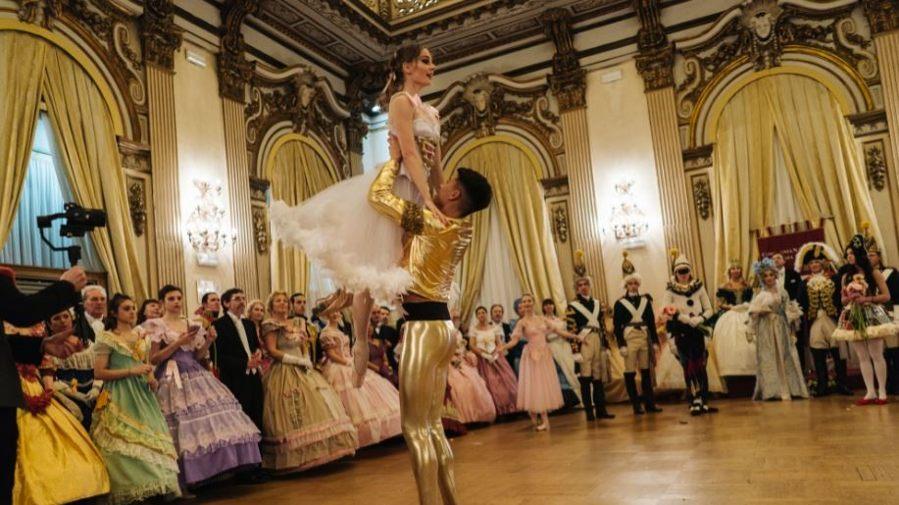 Il Gran Ballo Russo  a Palazzo Brancaccio
