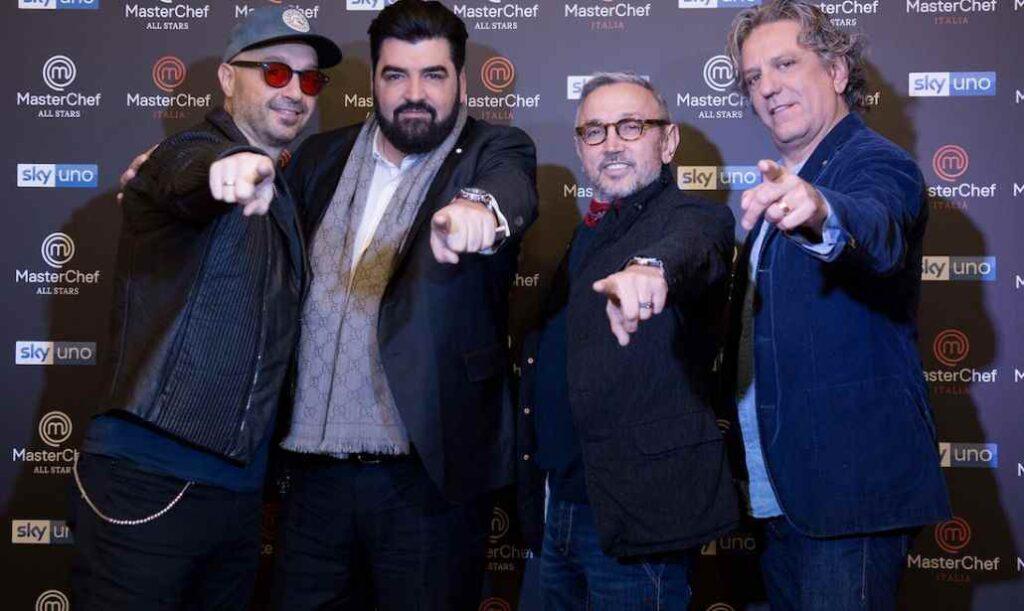 Joe Bastianich, Antonino Cannavacciuolo, Bruno Barbieri e Giorgio Locatelli, giudici di MasterChef
