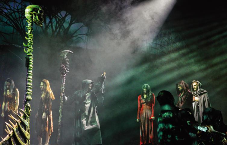 La Divina Commedia Opera Musical - Caronte
