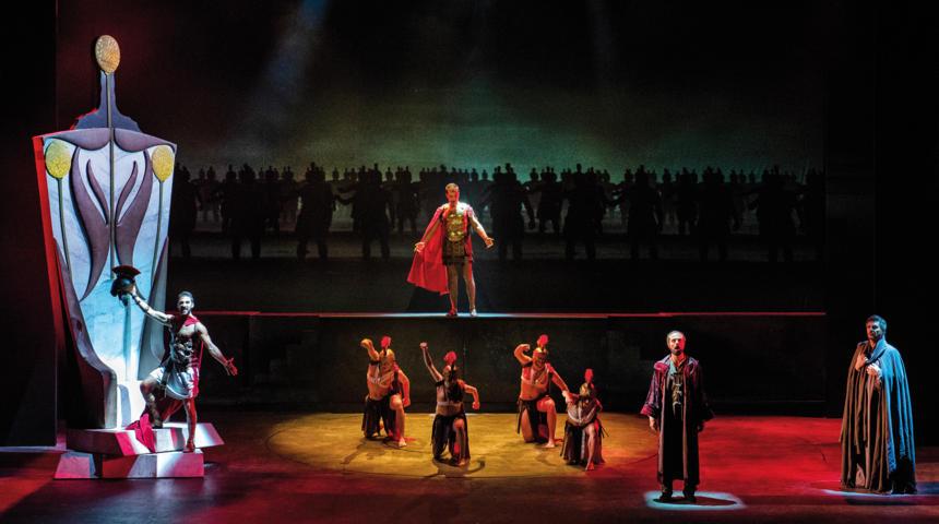 La Divina Commedia Opera Musical - Catone