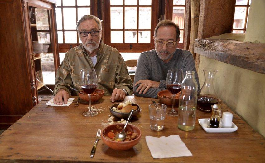 Luis Brandoni e Guillermo Francella in uno scatto da Il mio capolavoro