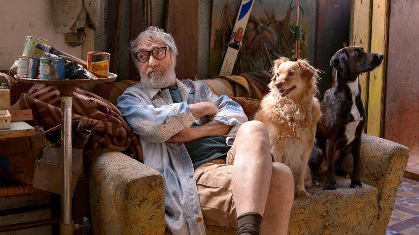 Luis Brandoni in una scena de Il mio capolavoro