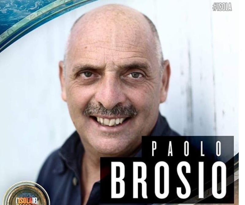 Paolo Brosio - concorrente Isola dei famosi