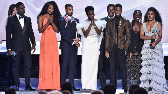 SAG Awards 2019 - Black Panther cast