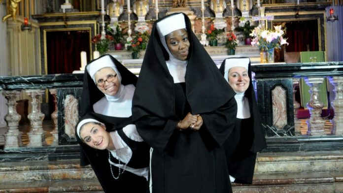 Sister Act il musical - Gloria Enchill e cast
