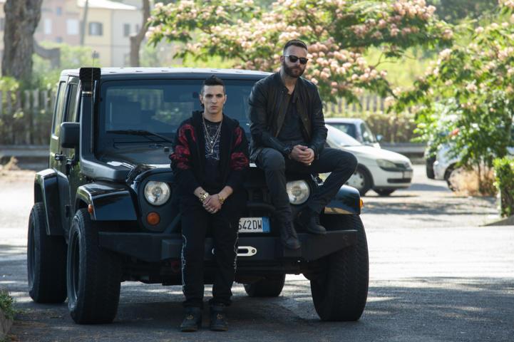 Suburra La serie 2 - Giacomo Ferrara e Alessandro Borghi
