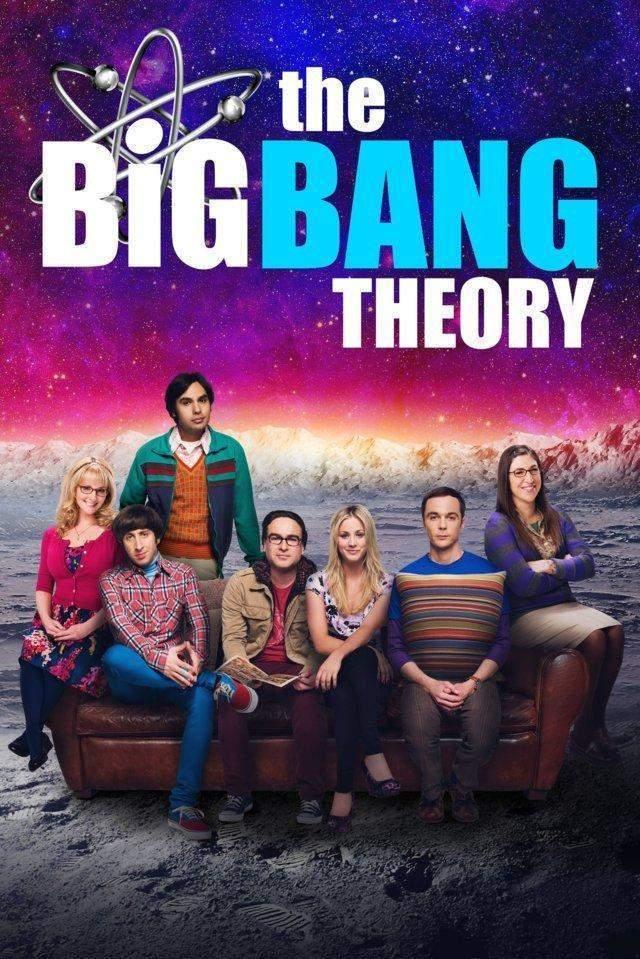 The Big Bang Theory 12 locandina