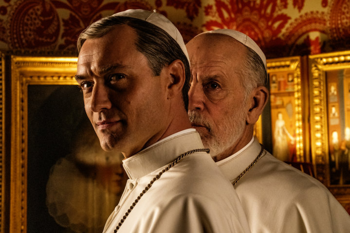 The New Pope - Jude Law & John Malkovich