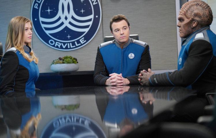 The Orville 2 - Adrianne Palicki, Seth McFarlane e Peter Macon