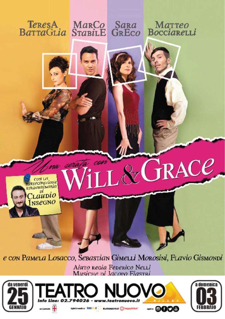 Una serata con Will & Grace - Locandina
