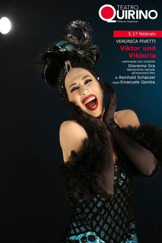 Viktor und Viktoria - locandina Teatro Quirino