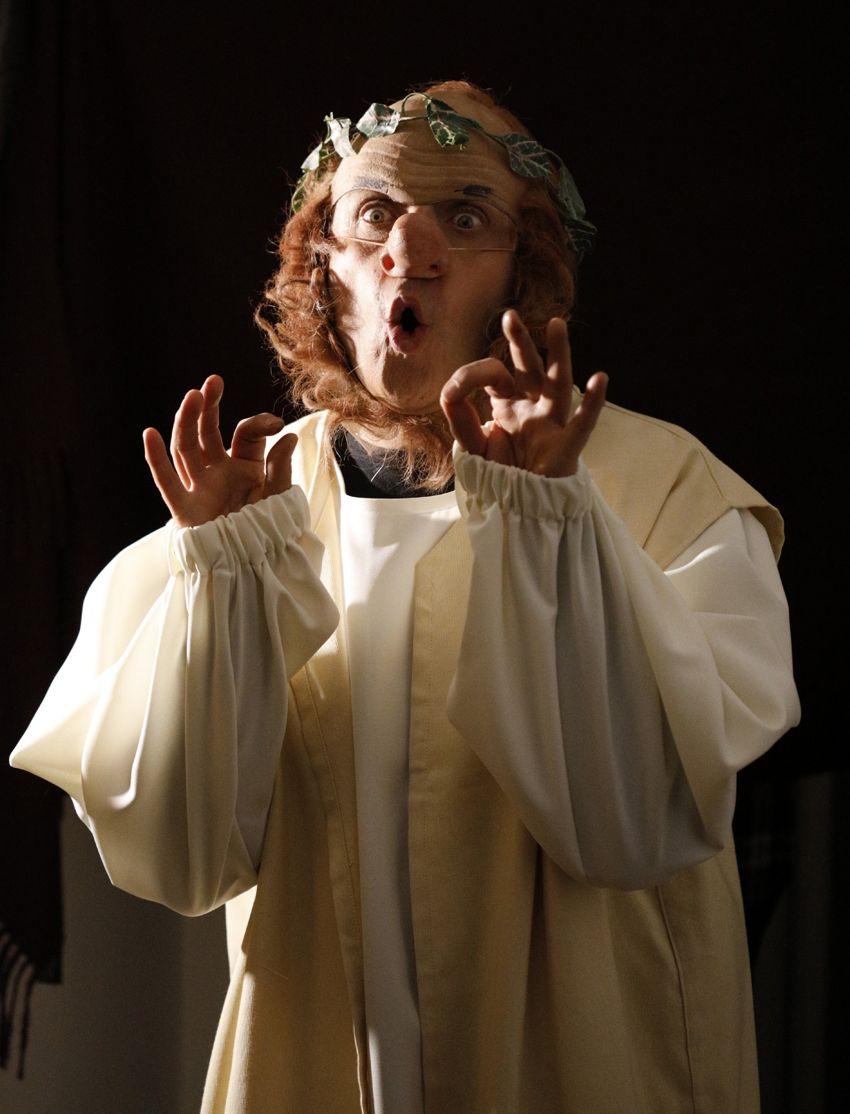 Ballantini Petrolini - Ballantini interpreta Nerone ph Daniele Bonanni