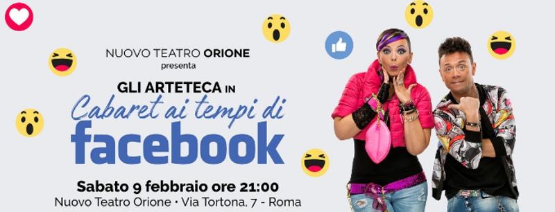 Cabaret ai tempi di Facebook - Locandina