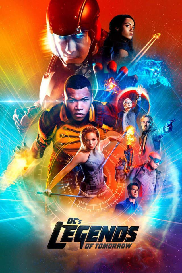 DC's Legends of Tomorrow Infinity - locandina