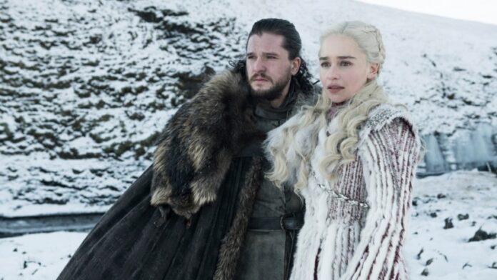 Game of Thrones 8 - Jon Snow e Daenerys Targaryen
