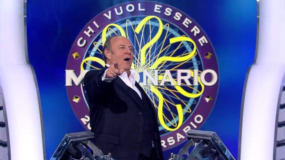 Gerry Scotti in Chi vuol essere Milionario