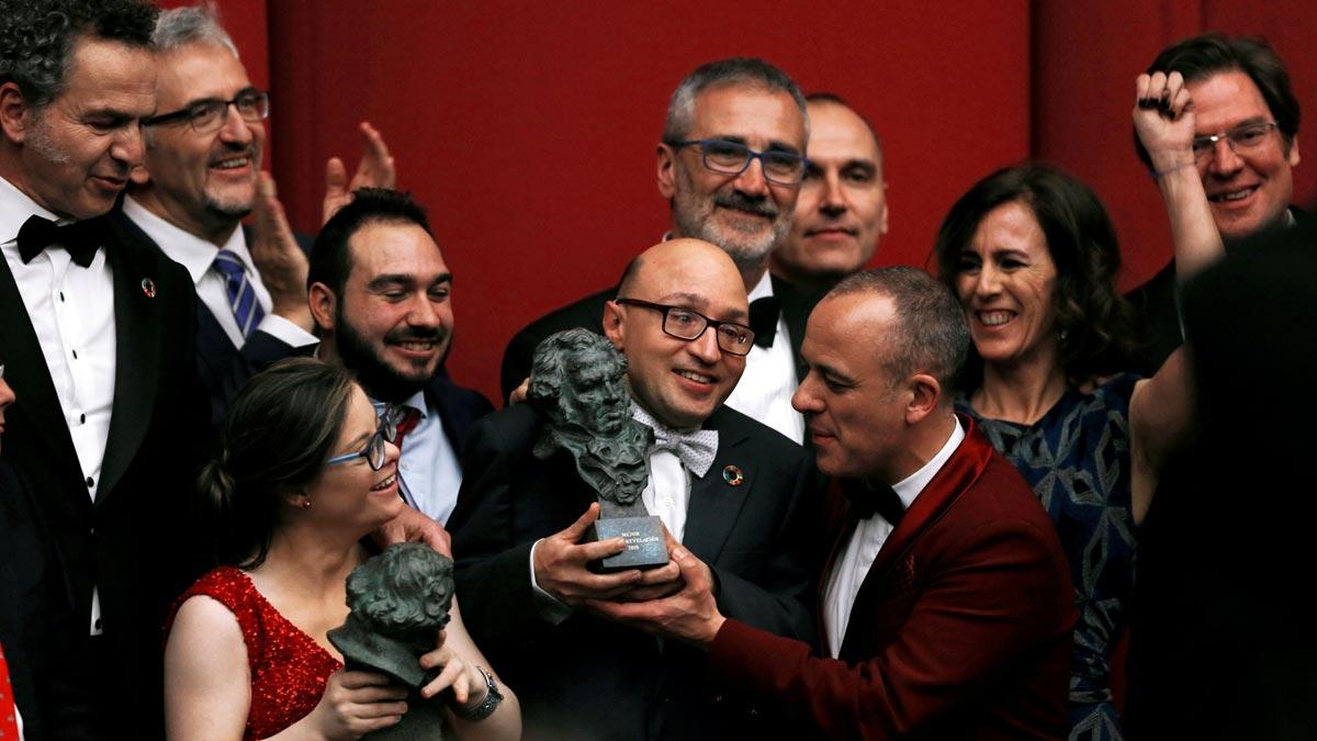 Goya 2019 - Non ci resta che vincere cast