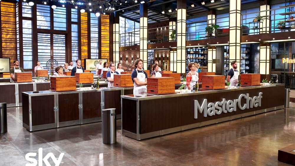 I concorrenti di Masterchef - puntata del 7 febbraio