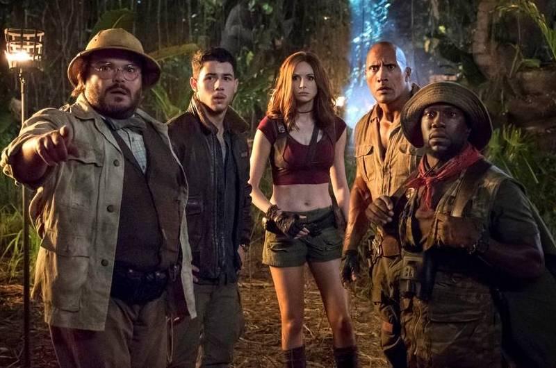 Il cast di Jumanji: Benvenuti nella giungla, che farà ritorno nel sequel