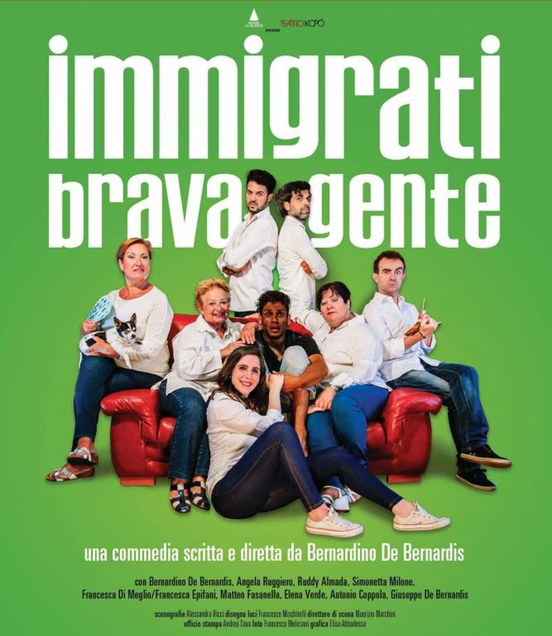 Immigrati brava gente - Locandina
