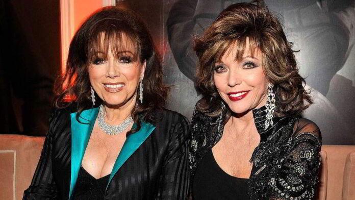 Jackie e Joan Collins