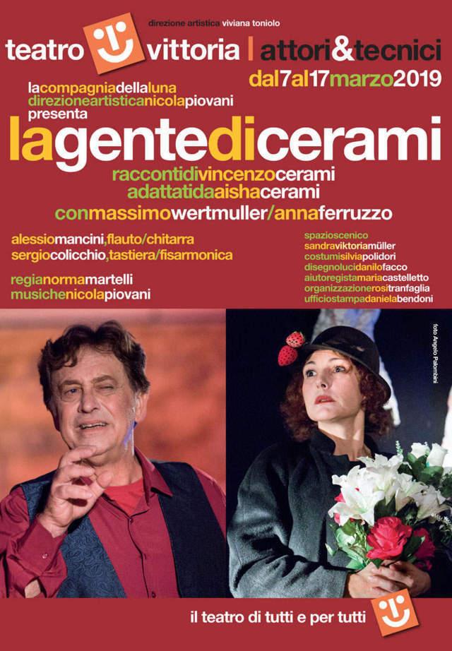La gente di Cerami - locandina Teatro Vittoria