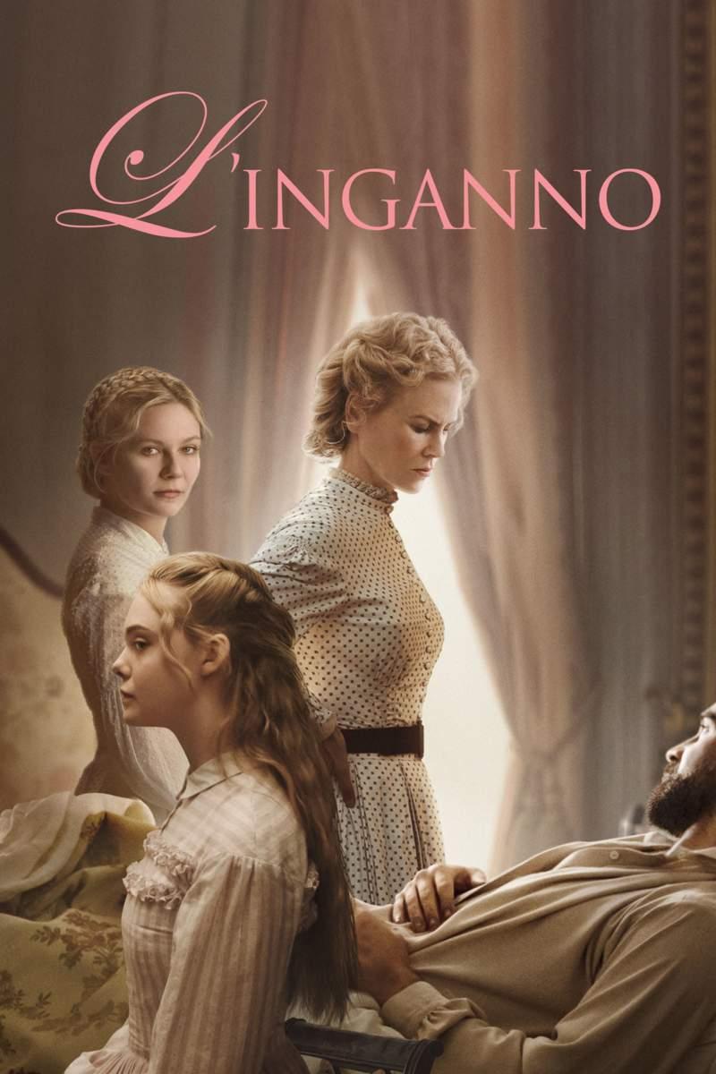 L'inganno locandina Infinity - Nicole Kidman, Kirsten Dunst ed Elle Fanning