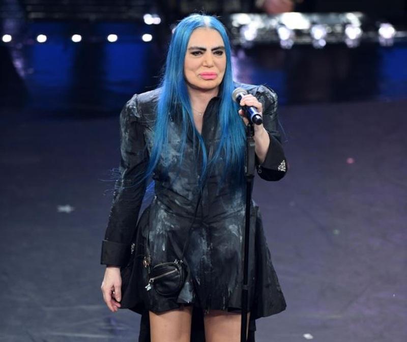 Loredana Bertè- esibizione prima puntata del Festival di Sanremo