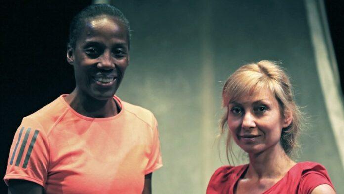 Maratona di New York - Fiona May e Luisa Cattaneo