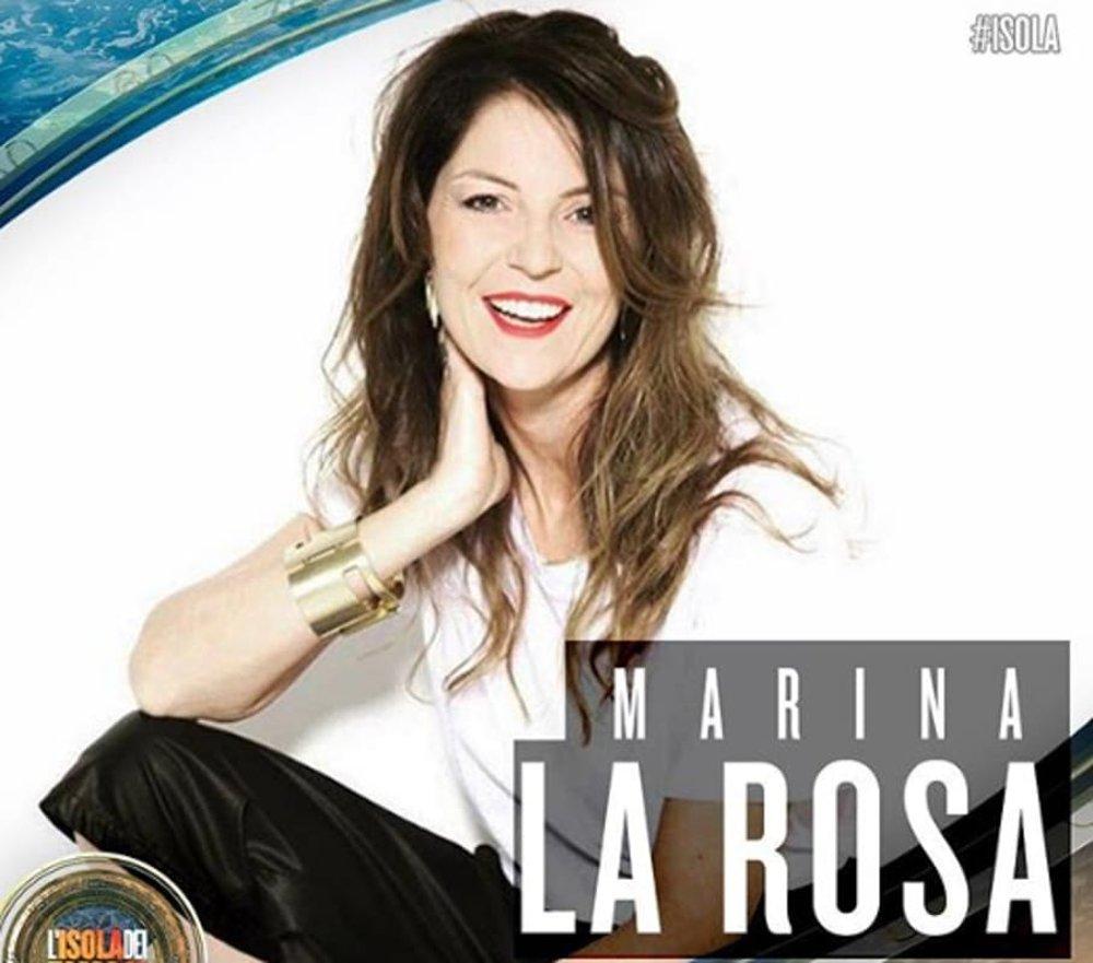 Marina La Rosa, concorrente Isola dei famosi
